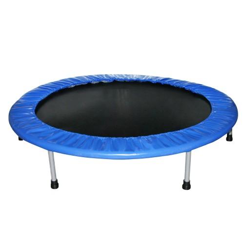 eduplay trampolin 120 cm blau schwarz ebay. Black Bedroom Furniture Sets. Home Design Ideas