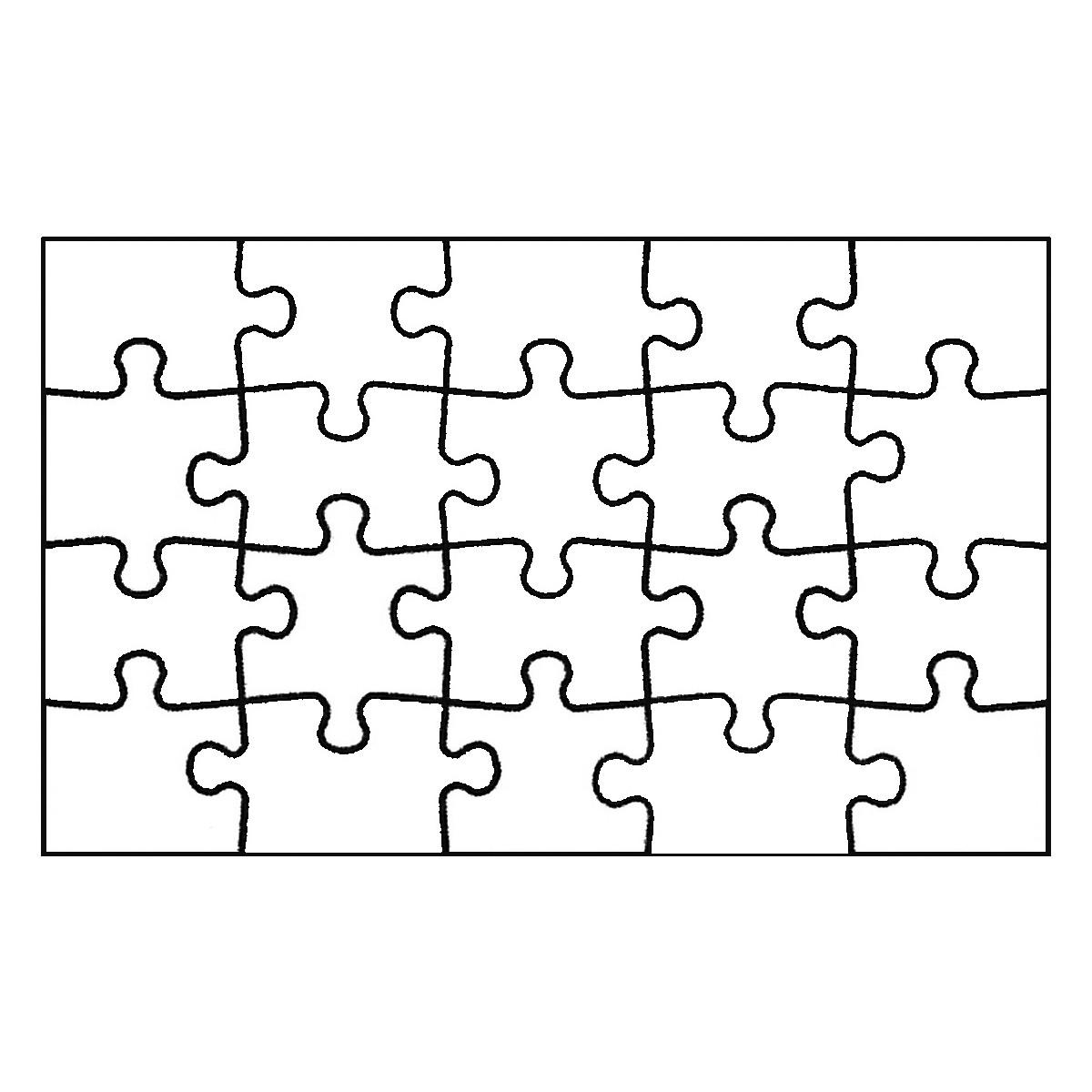 Fantastisch 20 Stück Puzzle Vorlage Ideen - Beispiel Anschreiben für ...