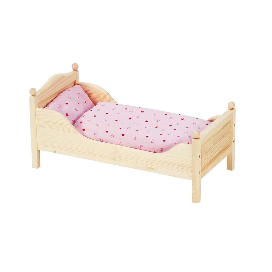 Игрушечная кроватка своими руками фото