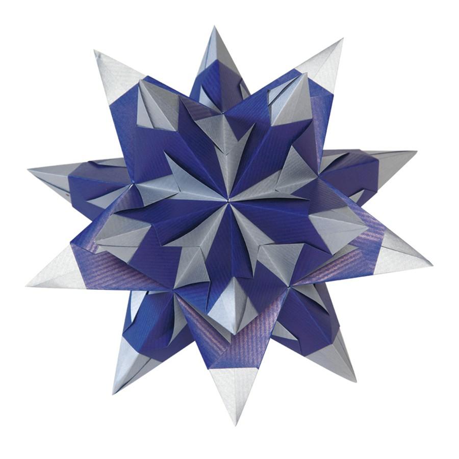 folia bascetta stern weihnachtsstern 3d origamistern. Black Bedroom Furniture Sets. Home Design Ideas