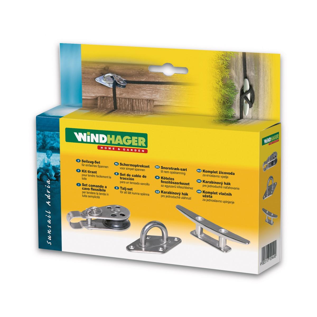 windhager sonnensegel seilspanntechnik markise. Black Bedroom Furniture Sets. Home Design Ideas