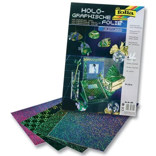 folia holographische folie 23 x 33 cm selbstklebend 4 teilig farbig sortiert ebay. Black Bedroom Furniture Sets. Home Design Ideas