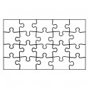 joypac white line puzzle postkarte zum selbst bemalen 6 st ck spielzeug basteln malen malen. Black Bedroom Furniture Sets. Home Design Ideas