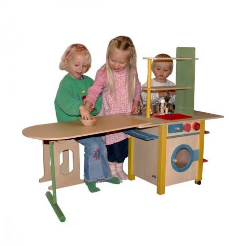 SpielkUche Holz Mit Funktionen