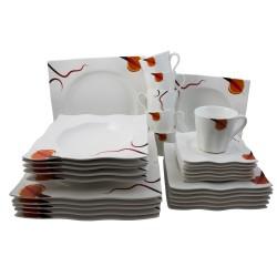 retsch arzberg kombiservice palladium 30 teiliges kaffeeservice tafelservice. Black Bedroom Furniture Sets. Home Design Ideas