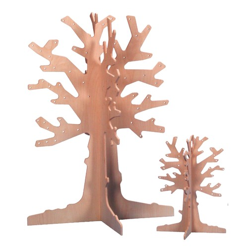 eduplay jahresthemen laubbaum aus birkenholz klein 50cm spielzeug basteln malen bastelideen. Black Bedroom Furniture Sets. Home Design Ideas