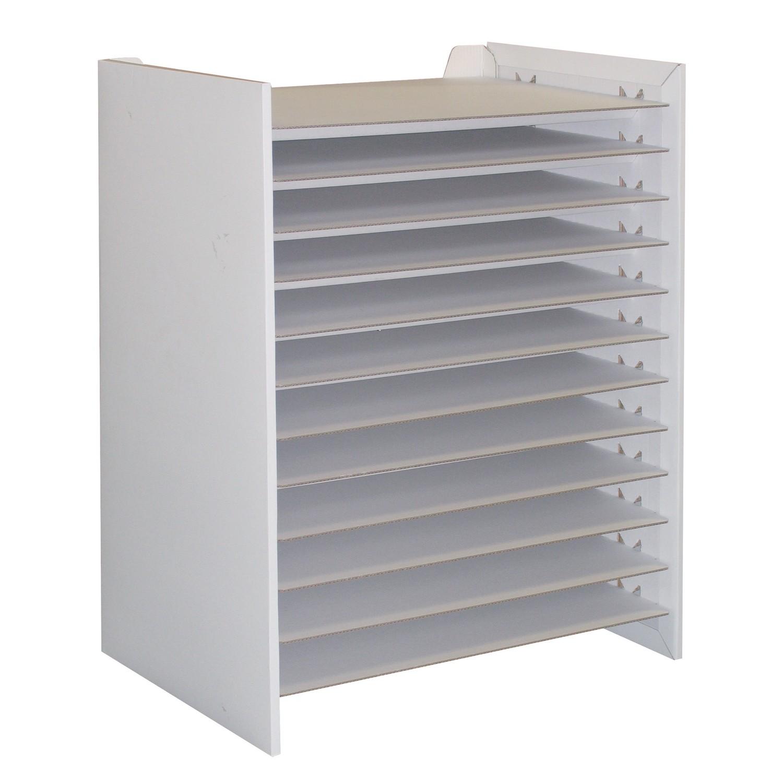 joypac white line papierablage zum aufbauen und bemalen. Black Bedroom Furniture Sets. Home Design Ideas