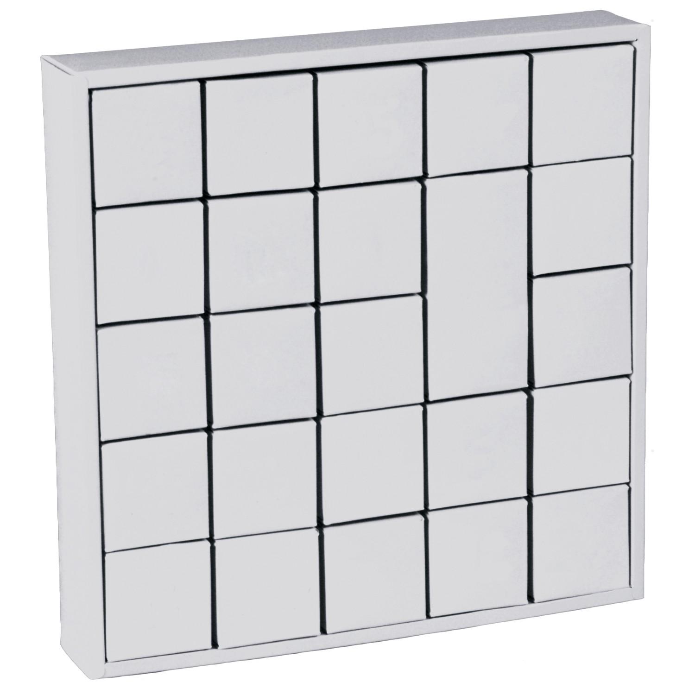 joypac white line karton adventskalender puzzle box zum bemalen wei 1 st ck. Black Bedroom Furniture Sets. Home Design Ideas