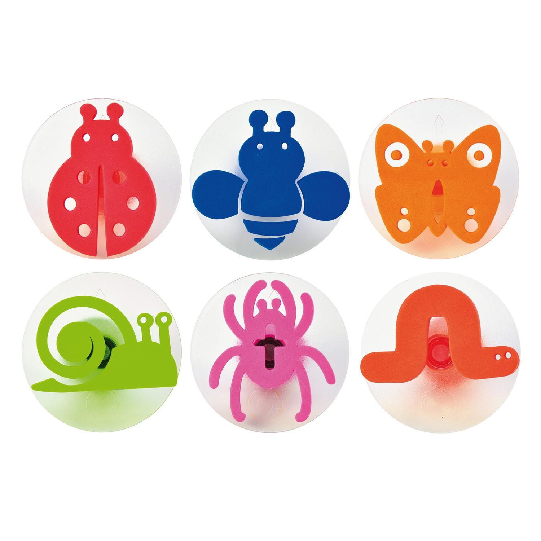 Sunnysue Insekten Motiv Stempel, mehrfarbig, 6-teilig (1 Set)