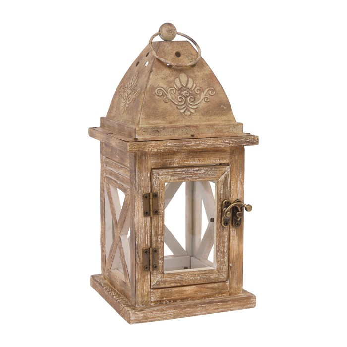 small foot 6875 windlicht nora aus holz mit ring zum aufh ngen natur ebay. Black Bedroom Furniture Sets. Home Design Ideas
