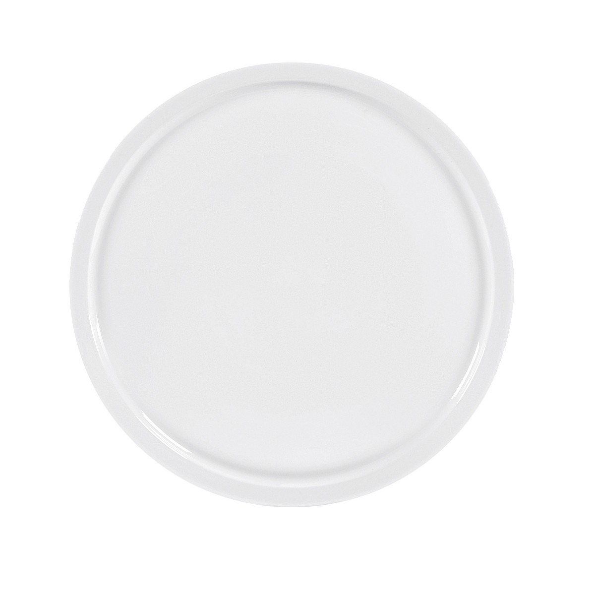 wellco 3420060 design pizzateller 31cm porzellan wei 1 st ck ebay. Black Bedroom Furniture Sets. Home Design Ideas