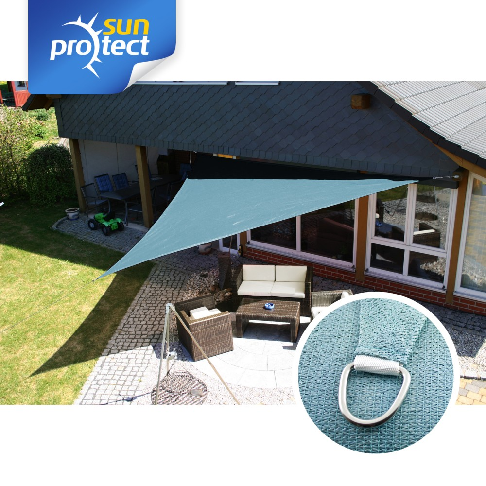 sunprotect sonnensegel dreieck 90 dreieckig. Black Bedroom Furniture Sets. Home Design Ideas