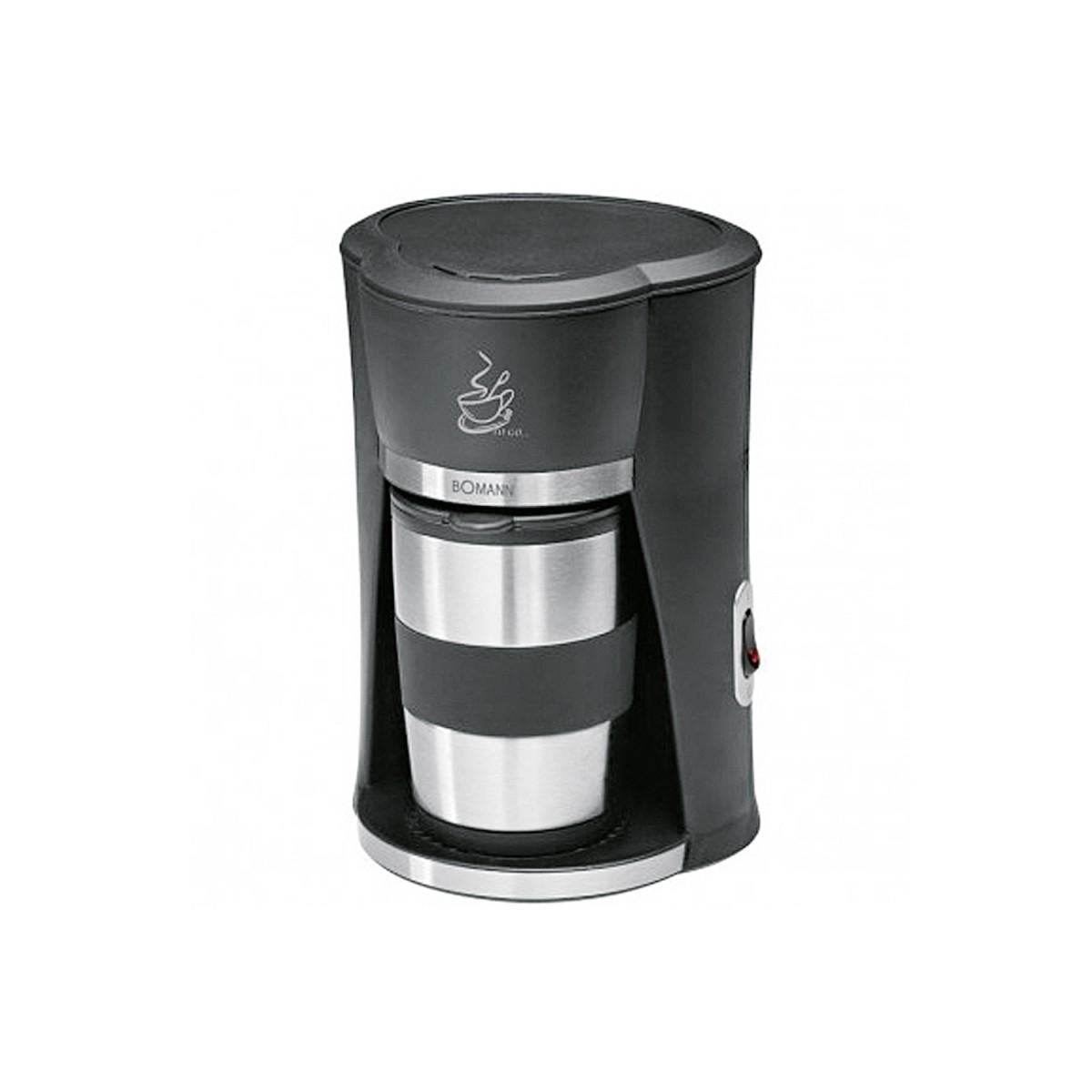 bomann ka 180 cb kaffeemaschine f r 1 2 tassen 1 st ck. Black Bedroom Furniture Sets. Home Design Ideas