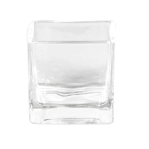 sandra rich rf 55 55 vase windlicht cube w rfel glas eckig 6x6cm transparent 24 st ck. Black Bedroom Furniture Sets. Home Design Ideas