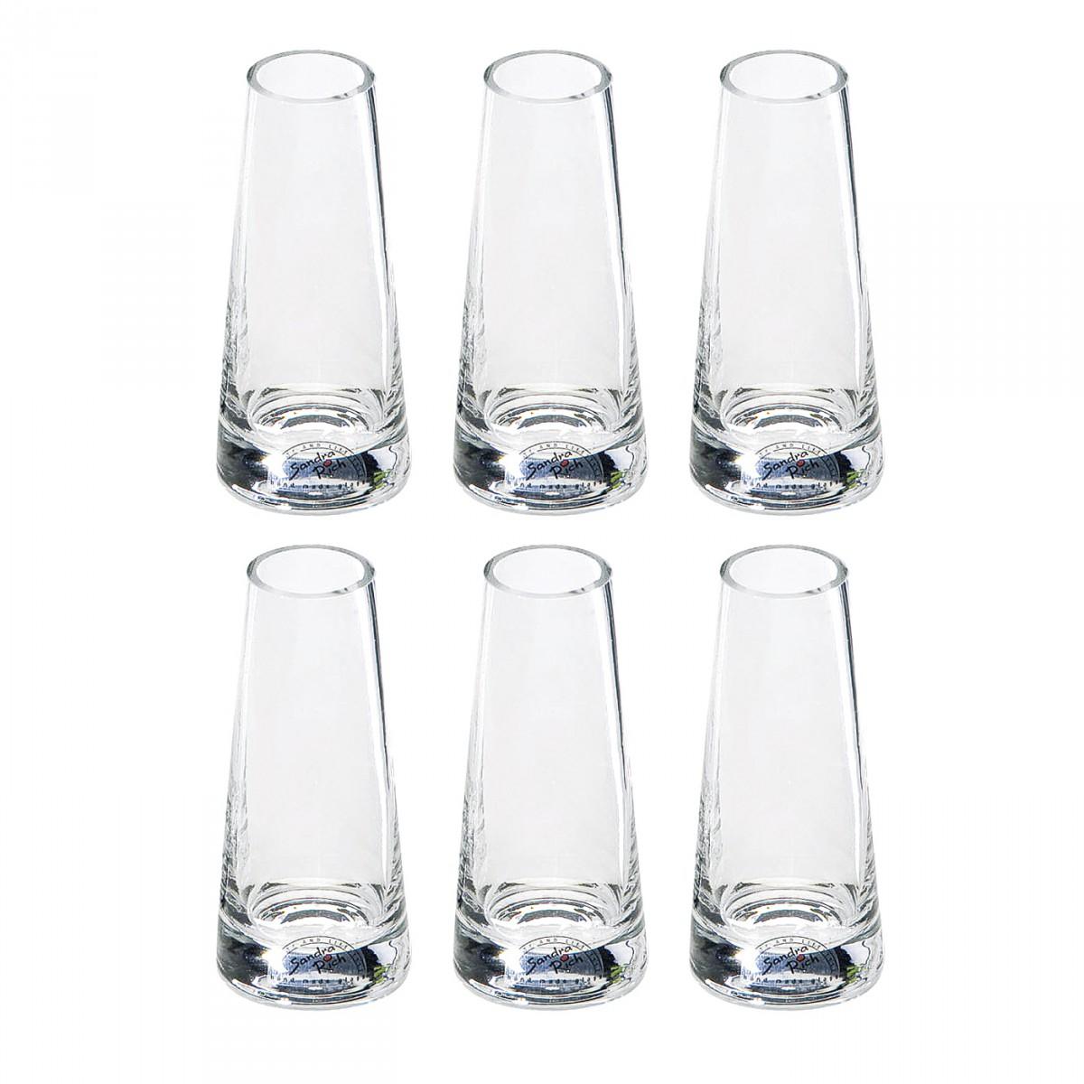 Sandra rich 865 12 solo mini glas vase solo mini 3 for Gastro deko